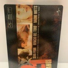 Cinéma: 23122 21 GRAMOS STEELBOOK DVD SEGUNDA MANO. Lote 237637725