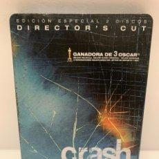 Cinéma: 23130 CRASH STEELBOOK DVD SEGUNDA MANO. Lote 237639200