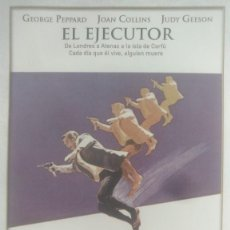 Cine: LOTE DVD EL EJECUTOR (DESCATALOGADO CON GEORGE PEPPARD - JOAN COLLINS. Lote 237828660