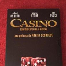 Cine: DVD CASINO - SCORSESSE - ED. ESPECIAL. Lote 237874860