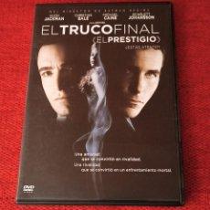Cine: DVD EL TRUCO FINAL. Lote 237875560