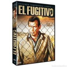 Cinema: EL FUGITIVO TEMPORADA 2 PARTE 1 DVD. Lote 238061805