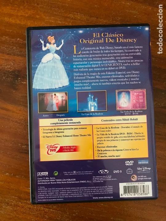Cine: DVD LA CENICIENTA DE DISNEY NUEVO - Foto 3 - 238145410