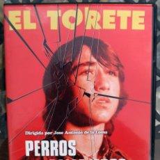 Cinema: DVD --- PERROS CALLEJEROS --- CON ÁNGEL FERNÁNDEZ FRANCO EL TORETE. DE JOSÉ ANTONIO DE LA LOMA. Lote 238689255