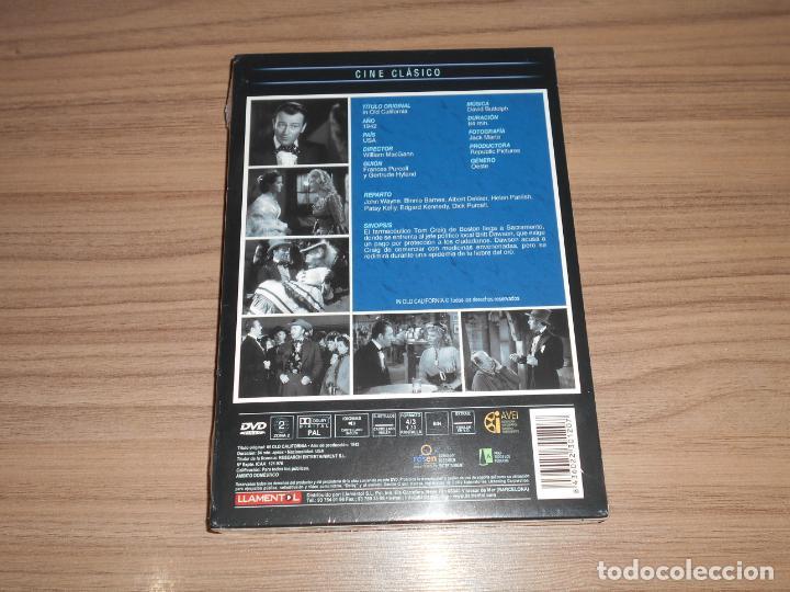 Cine: EN EL VIEJO CALIFORNIA DVD John Wayne NUEVA PRECINTADA - Foto 2 - 269215348