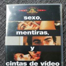 Cine: SEXO, MENTIRAS Y CINTAS DE VIDEO. MGM ORIGINAL, DESCATALOGADA.. Lote 238791815