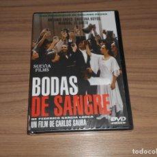 Cine: BODAS DE SANGRE DVD DE CARLOS SAURA CRISTINA HOYOS MARISOL ANTONIO GADES NUEVA PRECINTADA. Lote 239589370