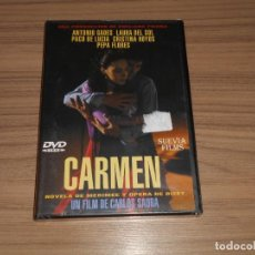 Cine: CARMEN DVD DE CARLOS SAURA CRISTINA HOYOS PACO DE LUCIA ANTONIO GADES NUEVA PRECINTADA. Lote 239589705