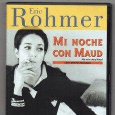 Cine: MI NOCHE CON MAUD. DVD. ERIC ROHMER. Lote 239692880