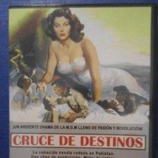 Cine: CRUCE DE DESTINOS. DVD DE LA MAGISTRAL PELICULA DE GEORGE CUKOR. CON AVA GARDNER Y STEWART GRANGER.. Lote 239760050