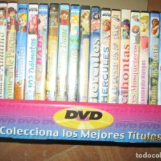 Cine: DVD COLECCION COMPLETA DE LOS MEJORES TITULOS CUENTOS INFANTILES. Lote 239812940