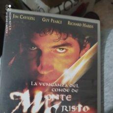 Cine: PELÍCULA DVD LA VENGANZA DEL CONDE DE MONTECRISTO. Lote 240352285