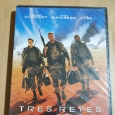 Cine: TRES REYES (UNA PELÍCULA DE DAVID O. RUSSELL) DVD PRECINTADO. Lote 240366120
