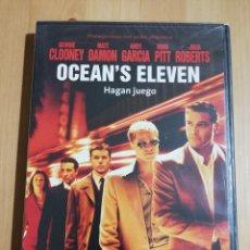 Cine: OCEAN'S ELEVEN (GEORGE CLOONEY / MATT DAMON / BRAD PITT / JULIA ROBERTS) DVD PRECINTAD. Lote 240366910