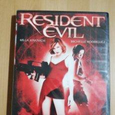 Cine: RESIDENT EVIL (MILLA JOVOVICH / MICHELLE RODRIGUEZ) DVD PRECINTADO. Lote 240366970