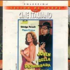 Cine: JOVEN Y BELLA DESHONHRADA CON HONOR DVD (EDWIGE FENECH) UN GRAN LIO DE FALDAS A LO ITALIANO. Lote 240417470