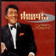 Cine: DEAN MARTIN DVD THAT´S AMORE (RECOPILATORIO) LO MEJOR DE ESTE CANTANTE EXCEPCIONAL. Lote 240420020