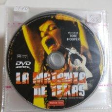 Cine: PELICULA EN DVD. SOLO DISCO. LA MATANZA DE TEXAS. TOBE HOPPER. Lote 240552630