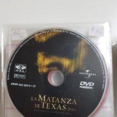 Cine: PELICULA EN DVD. SOLO DISCO. LA MATANZA DE TEXAS. 2004. Lote 240552675