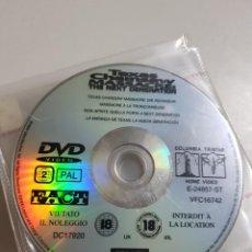 Cine: PELICULA EN DVD. SOLO DISCO. LA MATANZA DE TEXAS. LA NUEVA GENERACION. Lote 240707230