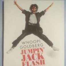 Cinema: LOTE DVD JUMPIN JACK FLASH:..Y ARRANCA LA AVENTURA (DESCATALOGADO CON WHOOPI GOLDBERG). Lote 240783350