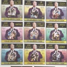 Cine: ALFRED HITCHCOCK - GRAN SELECCION - LOTE 11 PELICULAS EN DVD - NUEVO A ESTRENAR. Lote 240802655