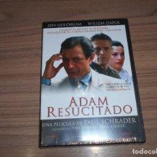 Cine: ADAM RESUCITADO DVD DEL DIRECTOR DE TAXI DRIVER WILLEM DAFOE JEFF GOLDBLUM NUEVA PRECINTADA. Lote 241092560