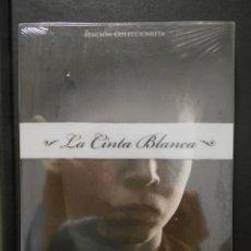 Cine: LA CINTA BLANCA. DVD EDICION COLECCIONISTA NUEVO A ESTRENAR DE LA MEMORABLE PELICULA DE MICHAEL HANE. Lote 241163985