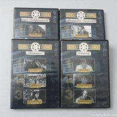 Cine: LOTE 4 DVDS CON 12 PELICULAS - JOYAS DEL CINE: WESTERN, AMOR, HISTORICO Y INDEPENDIENTE. Lote 241314790