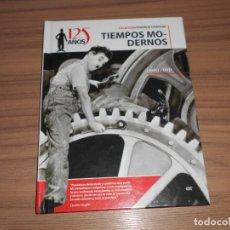 Cine: TIEMPOS MODERNOS EDICION ESPECIAL DVD + LIBRO 46 PAG. CHARLES CHAPLIN COMO NUEVA. Lote 262181415
