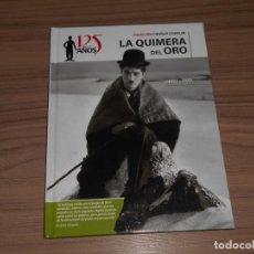 Cine: LA QUIMERA DEL ORO EDICION ESPECIAL DVD + LIBRO 46 PAG. CHARLES CHAPLIN COMO NUEVA. Lote 262181340