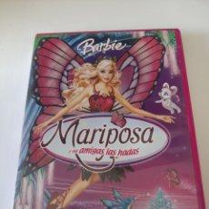 Cine: 24661 BARBIE MARIPOSA Y SUS AMIGAS LAS HADAS DVD SEGUNDAMANO. Lote 242114420