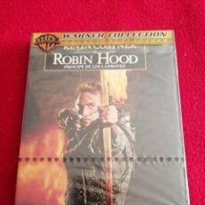 Cinema: DVD ROBIN HOOD PRÍNCIPE DE LOS LADRONES (PRECINTADO) - KEVIN COSTNER. Lote 242139920