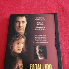 Cinema: DVD ESTALLIDO - DUSTIN HOFFMAN - MORGAN FREEMAN. Lote 242159375