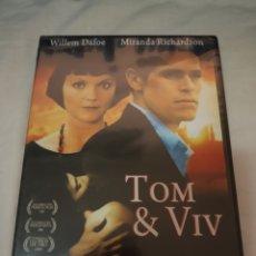 Cinema: DVD. TOM & VIV. PRECINTADO. CON WILLEM DAFOE.. Lote 242281685