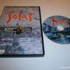 Cinéma: SOLAS DVD MARIA GALIANA ANA FERNANDEZ. Lote 254875695