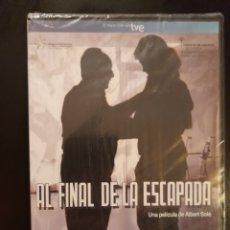Cine: AL FINAL DE LA ESCAPADA **PELI DVD PRECINTADA. Lote 242422330