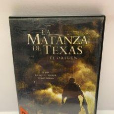 Cine: V88 LA MATANZA DE TEXAS EL ORIGEN DVD PROCEDENTE VÍDEOCLUB. Lote 242483355