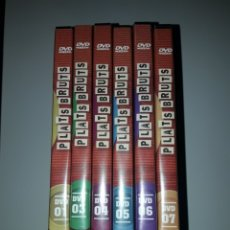 Cine: 6 DVD PLATS BRUTS JOEL JOAN JORDI SANCHEZ MONICA GLAENZEL N°1 DEFECTUSO DIARI AVUI. Lote 243049690