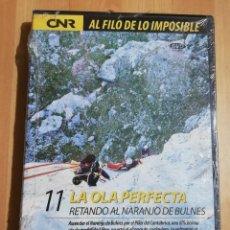 Cine: LA OLA PERFECTA. RETANDO AL NARANJO DE BULNES (AL FILO DE LO IMPOSIBLE Nº 11) DVD PRECINTADO. Lote 243307910