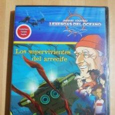 Cine: LOS SUPERVIVIENTES DEL ARRECIFE (LEYENDAS DEL OCEANO Nº 3. JACQUES COUSTEAU) DVD PRECINTADO. Lote 243308190