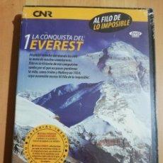Cine: LA CONQUISTA DEL EVEREST (AL FILO DE LO IMPOSIBLE Nº 1) DVD PRECINTADO. Lote 243308615