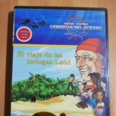 Cine: EL VIAJE DE LAS TORTUGAS LAÚD (LEYENDAS DEL OCEANO Nº 6. JACQUES COUSTEAU) DVD PRECINTADO. Lote 243308705