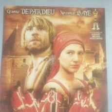 Cine: LOTE DVD EL REGRESO DE MARTIN GUERRE (GERARD DEPARDIEU - NATHALIE BAYE). Lote 243362895