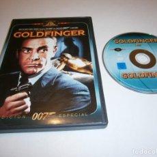 Cine: 007 JAMES BOND VS GOLDFINGER DVD EDICION ESPECIAL SEAN CONNERY. Lote 243480000