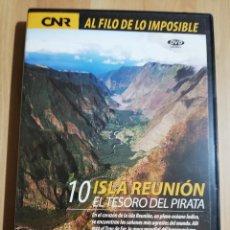 Cine: ISLA REUNIÓN. EL TESORO DEL PIRATA (AL FILO DE LO IMPOSIBLE Nº 10) DVD. Lote 243493655