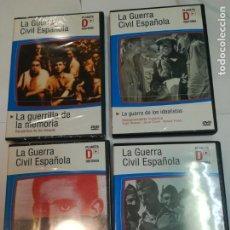 Cine: 10 DVD PLANETA D HISTORIA. LA GUERRA CIVIL SA2940. Lote 243534500