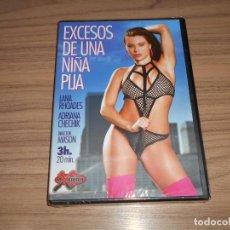Cinema: EXCESOS DE UNA NIÑA PIJA DVD NUEVA PRECINTADA. Lote 243538255