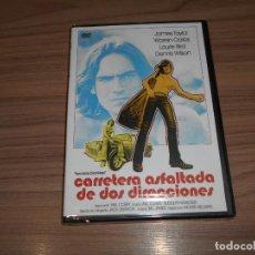 Cinéma: CARRETERA ASFALTADA DE DOS DIRECCIONES DVD JAMES TAYLOR WARREN OATES NUEVA PRECINTADA. Lote 243542845