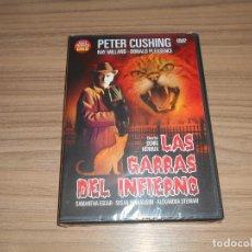 Cine: LAS GARRAS DEL INFIERNO DVD RAY MILLAND PETER CUSHING TERROR NUEVA PRECINTADA. Lote 243550025